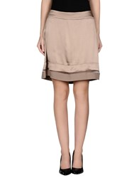 Ermanno Scervino Scervino Street Skirts Knee Length Skirts Women Khaki