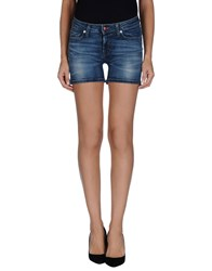 Roy Rogers Roy Roger's Denim Denim Shorts Women Blue
