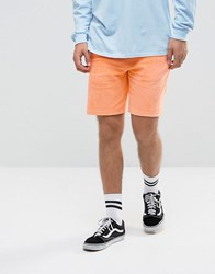 Antioch Towelling Shorts Orange