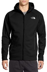 The North Face Men's 'Nacio' Active Fit Full Zip Fleece Hoodie Tnf Black