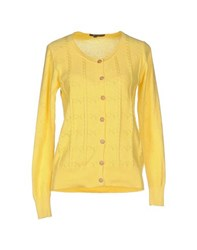 Cutie Knitwear Cardigans Women Yellow