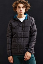 Iron And Resin Quarter Zip Pullover Jacket Black