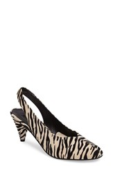 Topshop Women's 'Jazz' Slingback Pump Black Multi