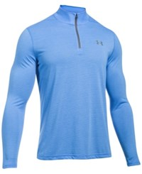 Under Armour Men's Threadborne Performance Quarter Zip Pullover Water