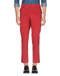 The Editor Casual Pants Brick Red