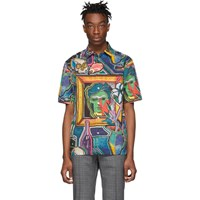 Paul Smith Multicolor Tailored Short Sleeve Shirt