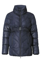 Noppies Women's Lene Quilted Maternity Jacket Dark Blue