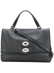 Zanellato Postina Large Tote Women Leather One Size Black