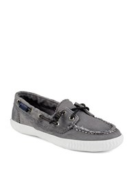 Sperry Sayel Away Boat Shoes Grey