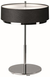 Estiluz Miris Table Lamp M 2717 Incandescent 37 Brushed Nickel 26 Black