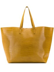 Nanushka Oversized Sahaara Tote Bag Yellow