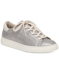 Lucky Brand Women's Lotuss Lace Up Sneakers Women's Shoes Pewter