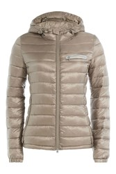 Closed Peak Down Jacket Gold