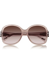 Lanvin D Frame Metal And Acetate Sunglasses