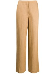 Theory Plain Trousers Neutrals