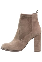 Faith Blair High Heeled Ankle Boots Rose Beige