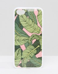 Signature Banana Leaf Iphone 7 Green Pink