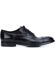Alberto Fasciani Lace Up Derby Shoes Black