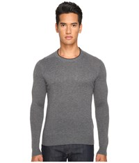Jack Spade Jersey Stitch Crew Neck Sweater Grey