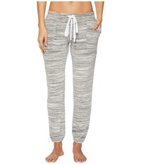 Hard Tail Pull On Ankle Pants Heather Gray Women's Casual Pants