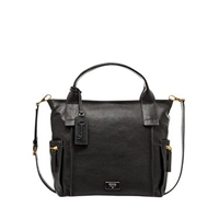 Fossil Emerson Womens Satchel Black