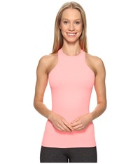 Beyond Yoga Under Lock And Keyhole Tank Top Coral Reef Women's Sleeveless Red