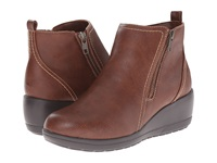 Softspots Carrigan Cognac Women's Zip Boots Tan