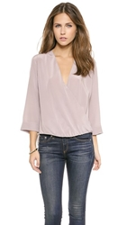 Rory Beca Fonzie Front Twist Blouse Vogue
