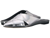 Sigerson Morrison Sheldon Silver Specchio Mirror Leather Women's Shoes