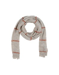 Kaos Oblong Scarves Beige
