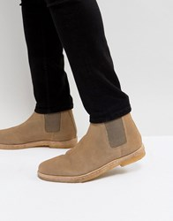 Kg By Kurt Geiger Syd Suede Chelsea Boots Stone