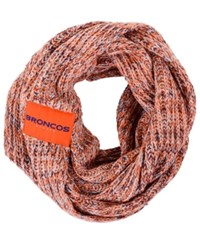 Forever Collectibles Denver Broncos Peak Infinity Scarf Orange Navy
