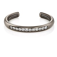 Ileana Makri Queens Cuff White Gold
