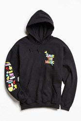 Urban Outfitters Uo Vh1 Save The Music Foundation Hoodie Sweatshirt White