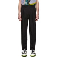 Valentino Black Pleated Trousers