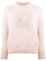 Ermanno Scervino So Precious Jumper Pink