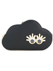 Sophie Hulme Cloud Coin Purse Women Calf Leather One Size Black
