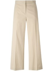 Fabiana Filippi Cropped Trousers Neutrals