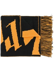 Blood Brother Dark Thames Scarf Yellow