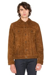 Deus Ex Machina Django Suede Jacket Brown