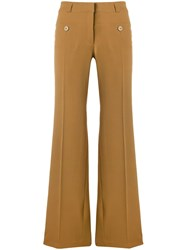 Carven High Waisted Trousers Multicolour