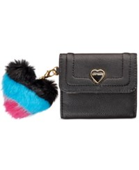 Betsey Johnson Xox Trolls French Wallet Only At Macy's Black