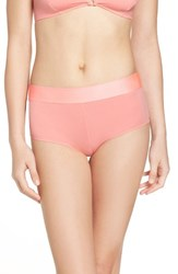 Free People Women's Stop Me Briefs Coral