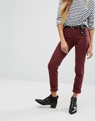 Noisy May Lucy Skinny Jean Brown
