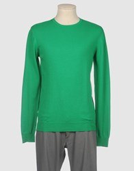 Scout Knitwear Crewnecks Men Green