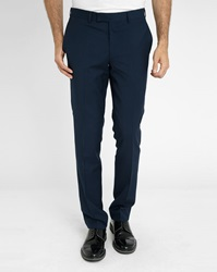 Sandro Blue Notch Suit Trousers