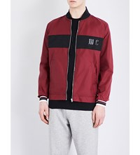 Mcq By Alexander Mcqueen Shell Bomber Jacket Port