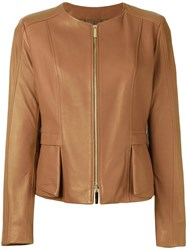 Hugo Boss 'Sarimy' Jacket Brown