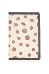 Topshop Pony Leather Oyster Card Case Multi