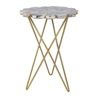 Amara Agate Table Dark